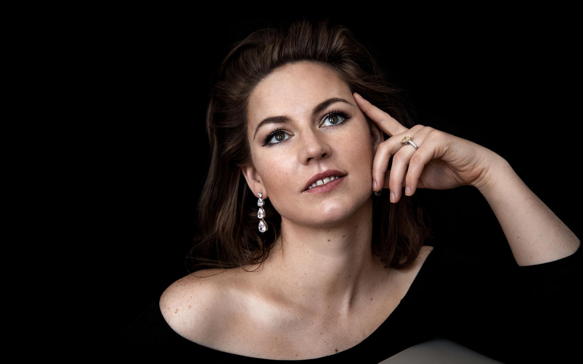 ELEANOR LYONS making her role and house debut as Mozart's Donna Anna with Opera Australia